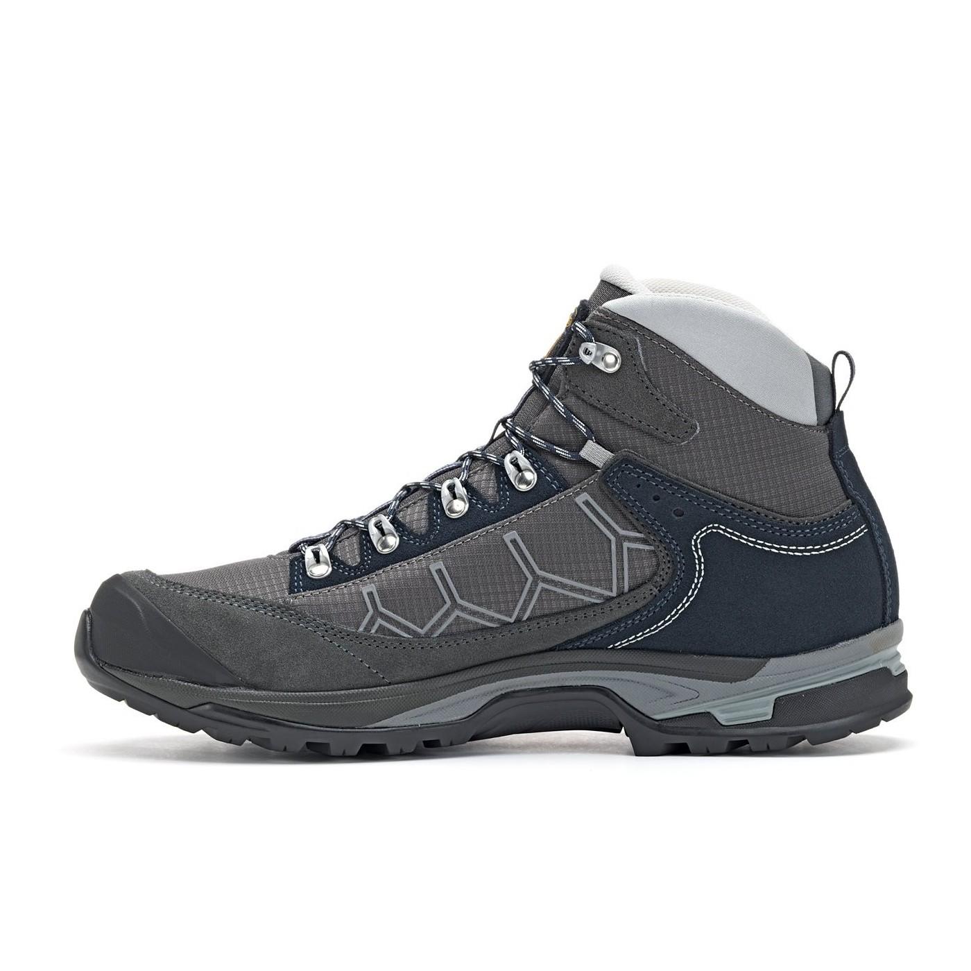 Asolo Mens Falcon GV Hiking Boot Graphite//Graphite//Blueberry 13